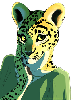 Kianna the African Leopard by pinkykyra