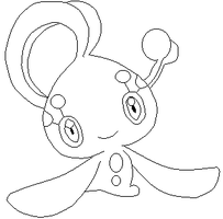 Manaphy -lineart