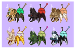 ~Catseye Spider ADOPTS CLOSED~ by CremexButter