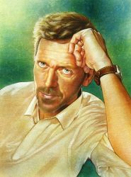 Hugh Laurie as Gregory House by jiangchen