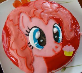 Pinkie Pie cake by AngelofHapiness