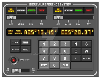 Inertial Reference System panel by adanhamidu