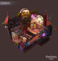 Voracious Games Potionomics Potion Shop Afternoon by atomhawk