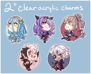 Fates Charms by xmoonlitxdreamx