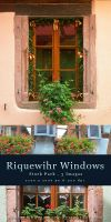 Riquewihr Windows - stock pack by kuschelirmel-stock