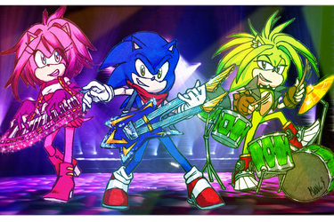 Sonic UnderGround Tribute by DawnHedgehog555