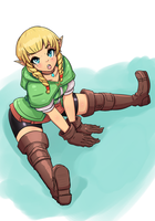 Linkle Hype - LoZ by Raveant