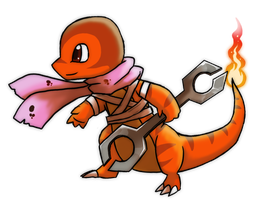 Dizzy the Charmander by Eternity9
