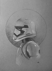First Order Stormtrooper by Benef
