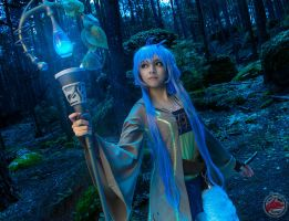 Blue Magic by Eria by MaySakaali