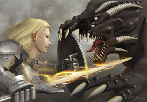Paladin and the Demon by Aerythes