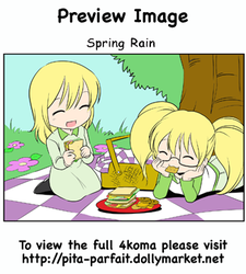 Sping Rain - 4koma - Preview by Pita-Parfait
