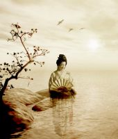 Ancient Song Of The Geisha by TwinAngels2007