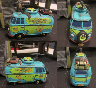 The History Machine, Post-Apocalyptic Van by JordanGreywolf