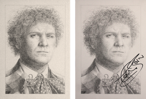 Drawing Doctor Who Project- Colin Baker by Atarial