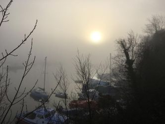 Fog Rolls into Penryn. by xJobO-De-HobOx