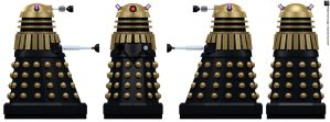 Frontier Dalek Supreme by Librarian-bot