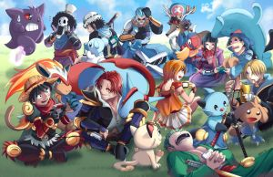 Pokemon X One Piece