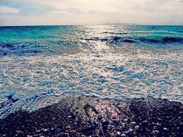 spume sea by BL00DYSunflowers