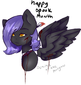 sp00py | Gift for OhHoneyBee | by demiseofthemorgan