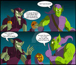 Spider-Man- When 2 Goblin's to work out a plan by The-GreenGoblin