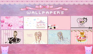Kawaii Wallpapers by xCupiiCakex