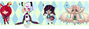 Set Price Adopts (closed) by Kariosa-Adopts