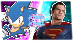 RR|IDW Sonic vs. DCEU Superman by Vex2001