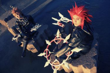 KH2 - VIII and XIII by da-rk
