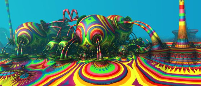 Candyland Fountains by Virginia-Fred