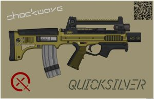 Quicksilver Industries: 'Ocelot' PDW by Shockwave9001