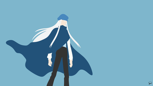Kite (Hunter x Hunter) Minimalist Wallpaper by greenmapple17