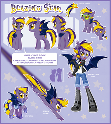 Blazing Star Official Reference Guide by Centchi
