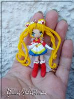 Super Sailor Moon Pendant by DarkettinaMarienne