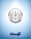 wall clock Free PSD file by BlueX-Design