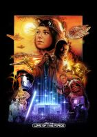 The Force Awakens Poster Small by rampantimaginationA