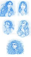 Disney Princesses 2 by RiTTa1310