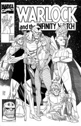 Warlock and the Infinity Watch by JohnJett