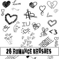 Romance brushes by Red--Roses