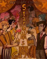 Starburst Cafe Poster Contest Entry by Akuno-Hana