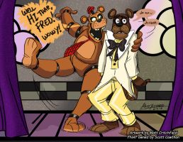 FNAF - When Nedd Found Fred - 2-2-18 by Mattartist25