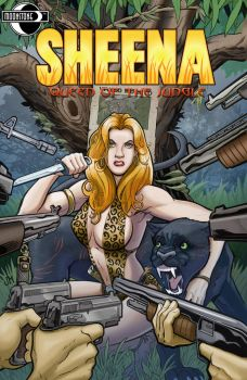 Sheena: Queen of the Jungle #2 by Kminor