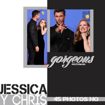 Photopack 138: Jessica Chastain y Chris Hemsworth by gorgeousPhotopacks