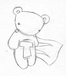 bear god s deviantart gallery God Bless Baby Gund Bear ted by bear god