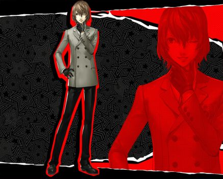 PERSONA 5 Goro Akechi - The Charismatic Detective by uzijin