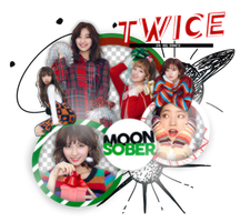TWICE (Heart Shaker)-PNGPACK#1 by MoonSober