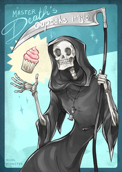 Master Death's cupcake magic by InsaneNudl