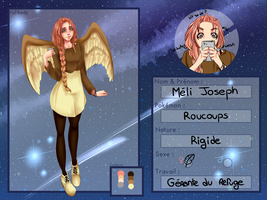 [UP] Fiche Personnage Meli by BobdaBoops