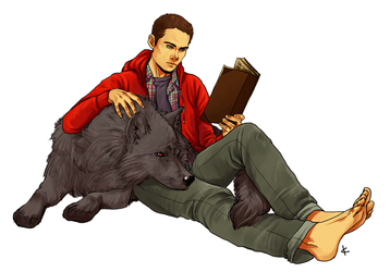 Teen Wolf FanArt: Research by NinaKask