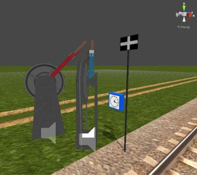 Train Driver 2 Models - Misc. Signs and Switches by Jakhajay